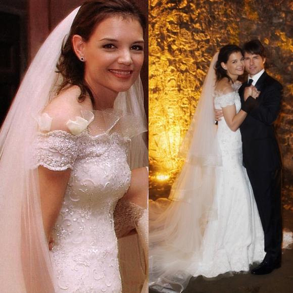 katie Holmes Wedding
