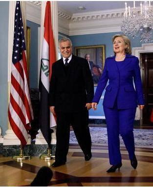 Hillary Clinton Meets With Iraqi Vice President Dr. Tariq Hashimi
