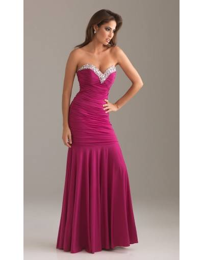 satin mermaid long formal dress
