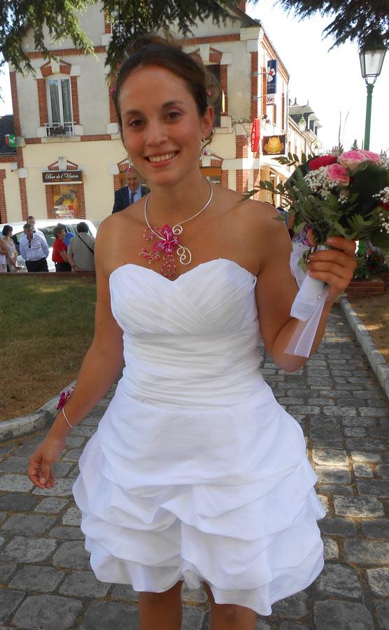 simple backless short taffeta Wedding Dresses