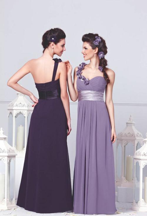 cheap-purple-Bridesmaid-Dresses