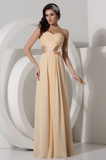 Buy long chiffon bridesmaid dresses online
