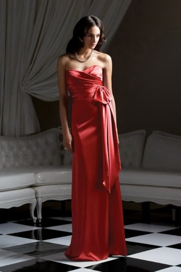Buy cheap red bridesmaid dresses UK online