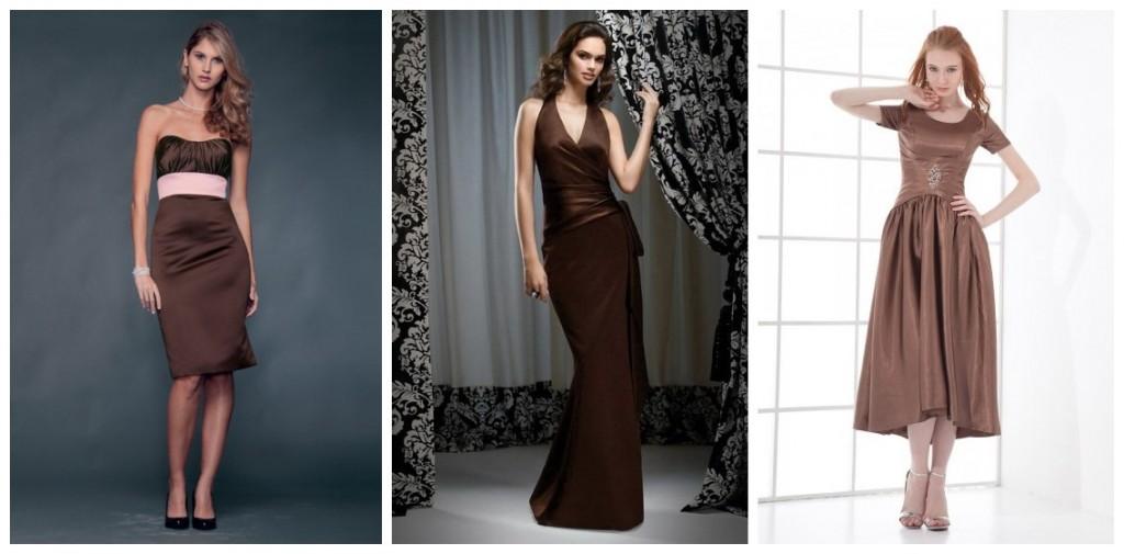 buy cheap brown bridesmaid dresses online