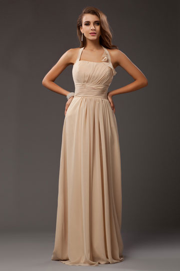 buy cheap halter formal gown 2016 online