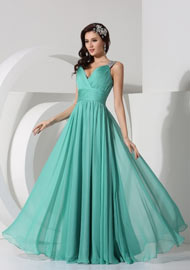 Green Formal Evening Wear